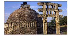Stupa III at Sanchi