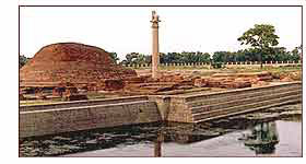 Ashoka Pillar,Vaishali Bihar